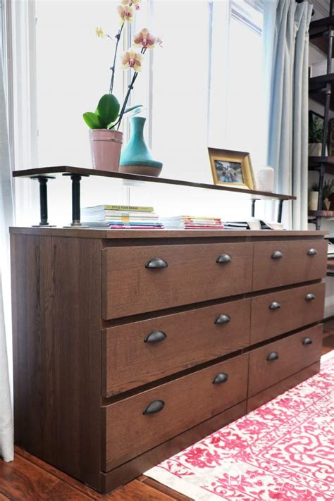 Ikea Malm Dresser - the easiest ikea malm hack kaleidoscope living