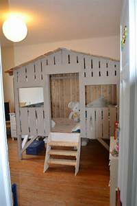 Cabane Lit Enfant : bien choisir un lit cabane pour enfant habitatpresto ~ Melissatoandfro.com Idées de Décoration