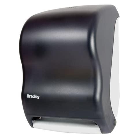 bradley automatic roll towel dispenser  br