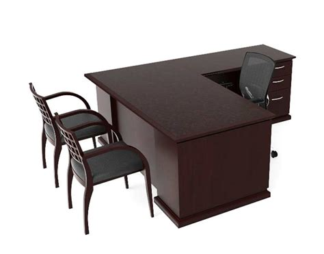 bureau ch麩e modern l shaped desk ch e 407 desks
