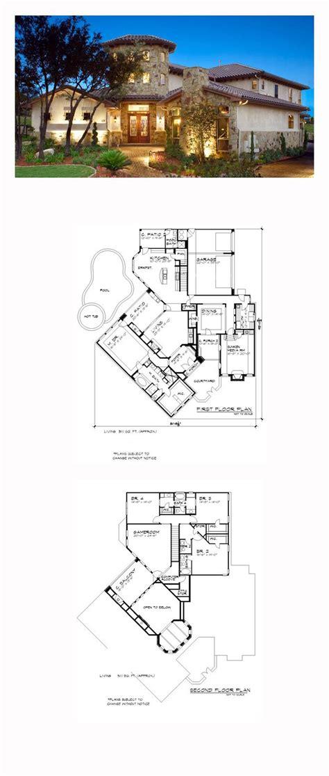 Mediterranean Style House Plans Villa Italian Plan Best