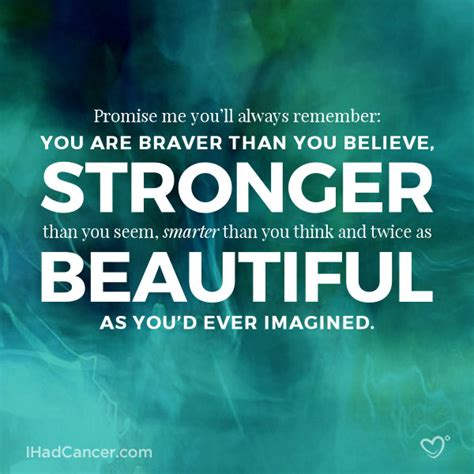 inspirational cancer quotes  survivors fighters
