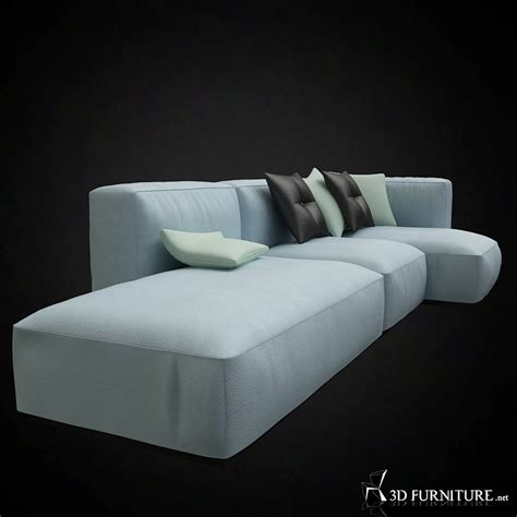 hay mags soft modular sofa  furniture  models