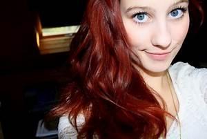 Mahagoni Rot Haarfarbe : haare f rben von rot auf blond ~ Frokenaadalensverden.com Haus und Dekorationen