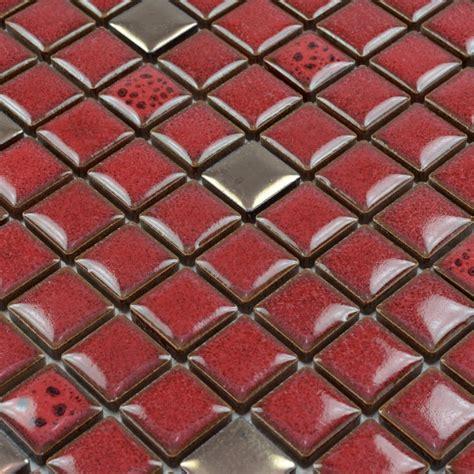 beige kitchen backsplash wholesales porcelain square mosaic tiles design porcelain 1572