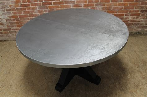 zinc table ecustomfinishes