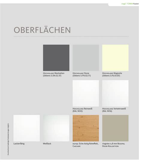 Ral 9010 Oder 9016 by Ringo Fusion By Kaiser Design Issuu
