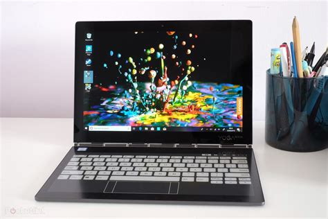 lenovo yoga book  review  keyless laptop returns