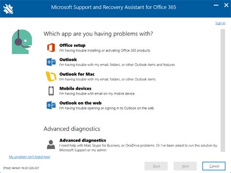 Office 365 Outlook Troubleshooting Tool by Office 365 Troubleshooting Tool From Microsoft