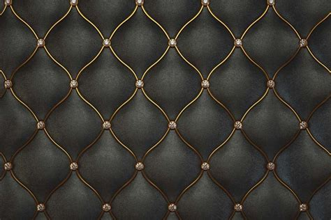 home and interior luxurious black leather pattern textured wallpaper walls