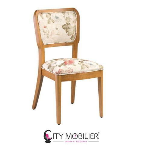 tissu pour chaise chaise en bois avec moulures lorenz city mobilier