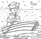 Coloring Boat Fishing Boats Speed Printable Sailboat Cargo Ship Rowboat Cool2bkids Getcolorings Getdrawings Colorings Template sketch template