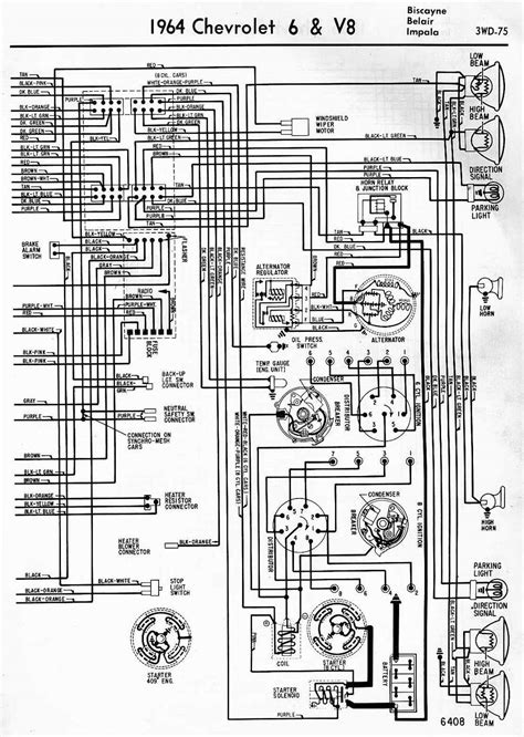 Wiring Diagrams Chevrolet Biscayne