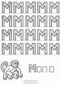 Fichas educativas de letras mayúsculas para imprimir (I)