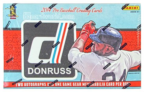 2014 Panini Donruss Baseball Hobby Box | DA Card World