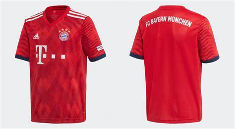 Der fc bayern münchen ist der erfolgreichste deutsche fußballklub und deutscher rekordmeister. FC Bayern München Trikot 2018-2019: Alle neuen Trikots ...