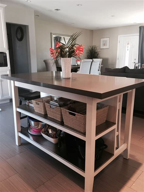 ikea island kitchen ikea stenstorp kitchen island hack we loved this island