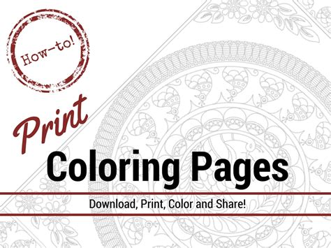 print coloring pages  adults  coloring book