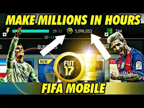 7 tricks to easily make millions of coins in fifa mobile explained in detail