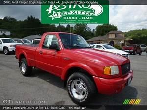 4x4 Ford Edge : bright red 2001 ford ranger edge regular cab 4x4 dark graphite interior ~ Farleysfitness.com Idées de Décoration