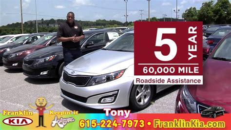 10 Year 100000 Mile Warranty by Kia Optima 10 Year 100 000 Mile Warranty Franklin Kia