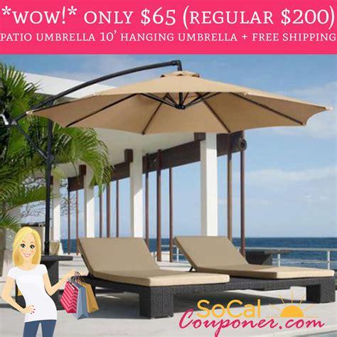 only 65 regular 200 outdoor patio umbrella 10 hanging