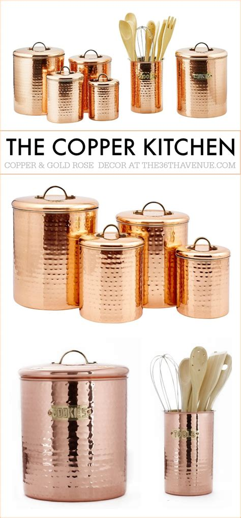 kitchen decor accessories copper kitchen decor guide the 36th avenue Kitchen Decor Accessories