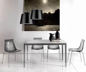 chaise design polycarbonate sirius zd1 c d p 004jpg With salle À manger contemporaineavec chaises salle À manger transparentes