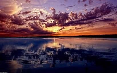 Ocean Scenes Scene Wallpapers Sky Sunset Wallpapersafari