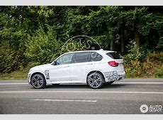 2015 BMW X5 M Spotted Ahead of LA Debut autoevolution