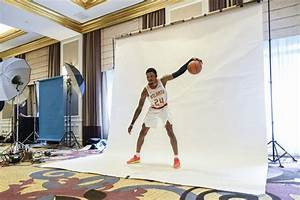 NBA media day was full of bounce as players put ...