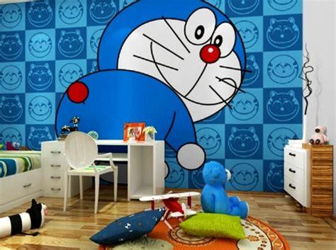 contoh motif wallpaper kamar tidur anak kreatif rumah