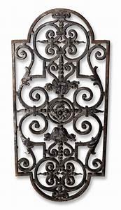 Grille Metal Decorative : pair of french black grills olde good things ~ Melissatoandfro.com Idées de Décoration