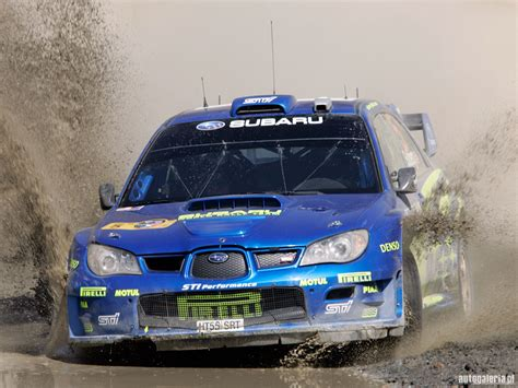 subaru wrc 2006 especial fim de uma era world rally cars subaru