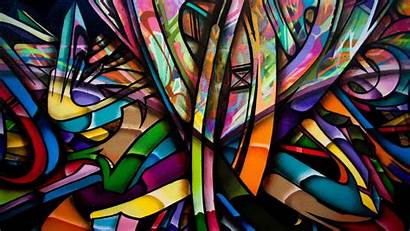 Graffiti Abstract Backgrounds Desktop Wallpapers Walls Colorful