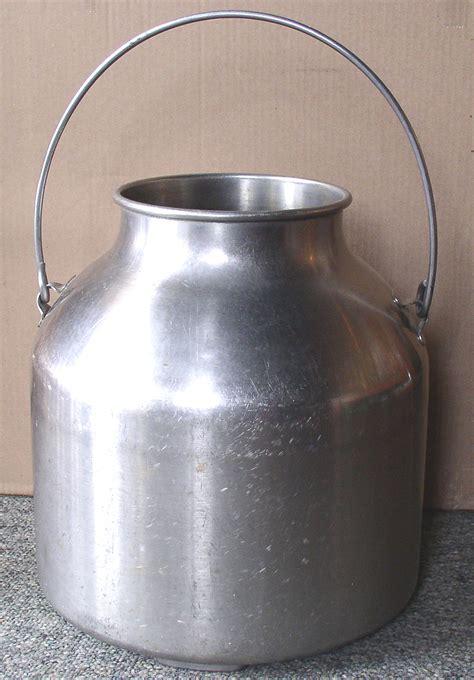 stainless steel milker milk pail thingery previews