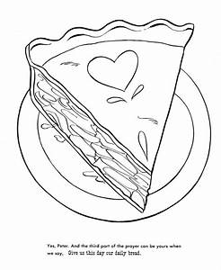 Pie Coloring Pages - Coloring Home