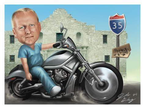Caricature Motorcycle By Simpoljosh On Deviantart