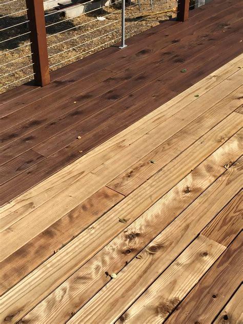 cleaning santa cruz deck work