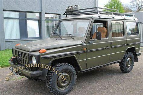 mercedes benz  class gd military  door  wagon