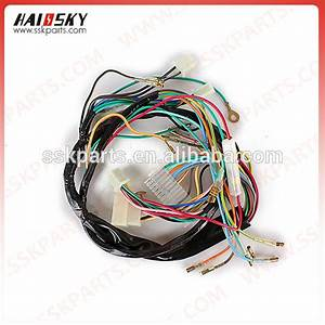 Haissky Factory Price Motorcycle Wiring Harness Connector