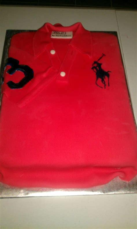 Ralph Lauren Polo Shirt Birthday Cake Cakecentralcom