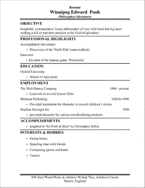 What A Student Resume Should Look Like what should a resume look like