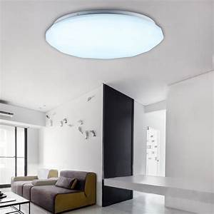 W led round ceiling down light recessed pendant kitchen