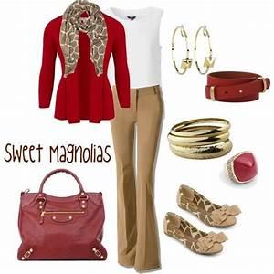 20 best images about Red and khaki outfits ) on Pinterest   Black blazers Red white blue and ...