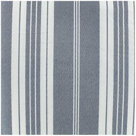 tissu coton cr 233 tonne toile 224 matelas bleu x 10cm ma mercerie