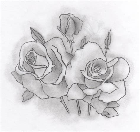 Images Of Cool Hearts With Roses Drawings Golfclub