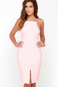 keepsake restless heart dress light pink dress midi