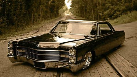 Cadillac Classic Car Classic Eldorado Slammed Hd Wallpaper