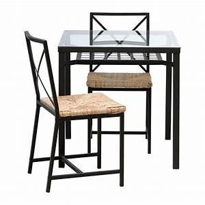 Set De Table Paille : gran s tavolo e 2 sedie ikea ~ Teatrodelosmanantiales.com Idées de Décoration